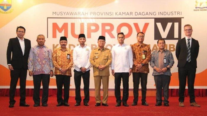 Governor Fachrori Hope KADIN Gives the Best Gait in Building Jambi Province